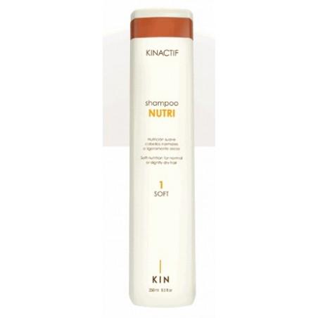 Shampoo nutri-silk cab. normales KIN