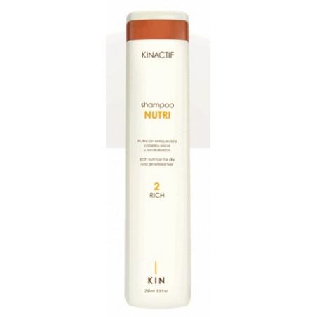 Shampoo nutri-silk cab. secos KIN
