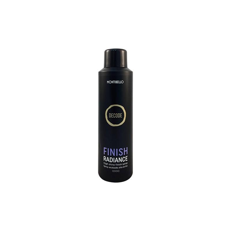 Spray brillo Finish Radiance Decode Montibello 200 ml