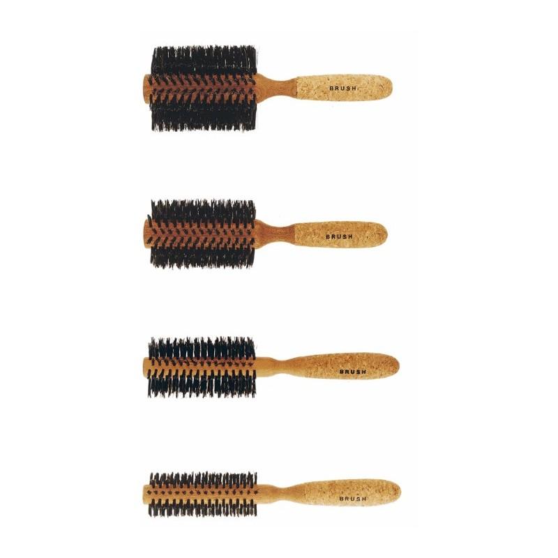 Cepillo circular mango corcho ( 80, 65, 55 y 35 mm )