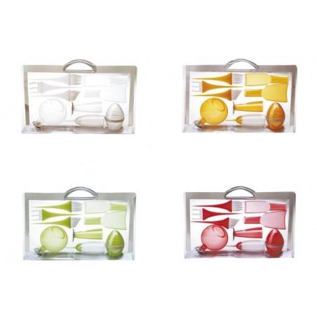 kit tintes completo ( naranja , blanco, verde y rojo )
