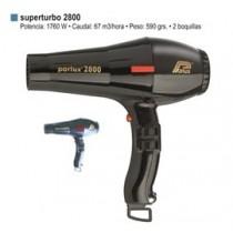Secador Parlux Superturbo 2800 ( azul o negro )