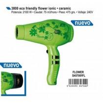 Secador eco friendly flower ionic + ceramic